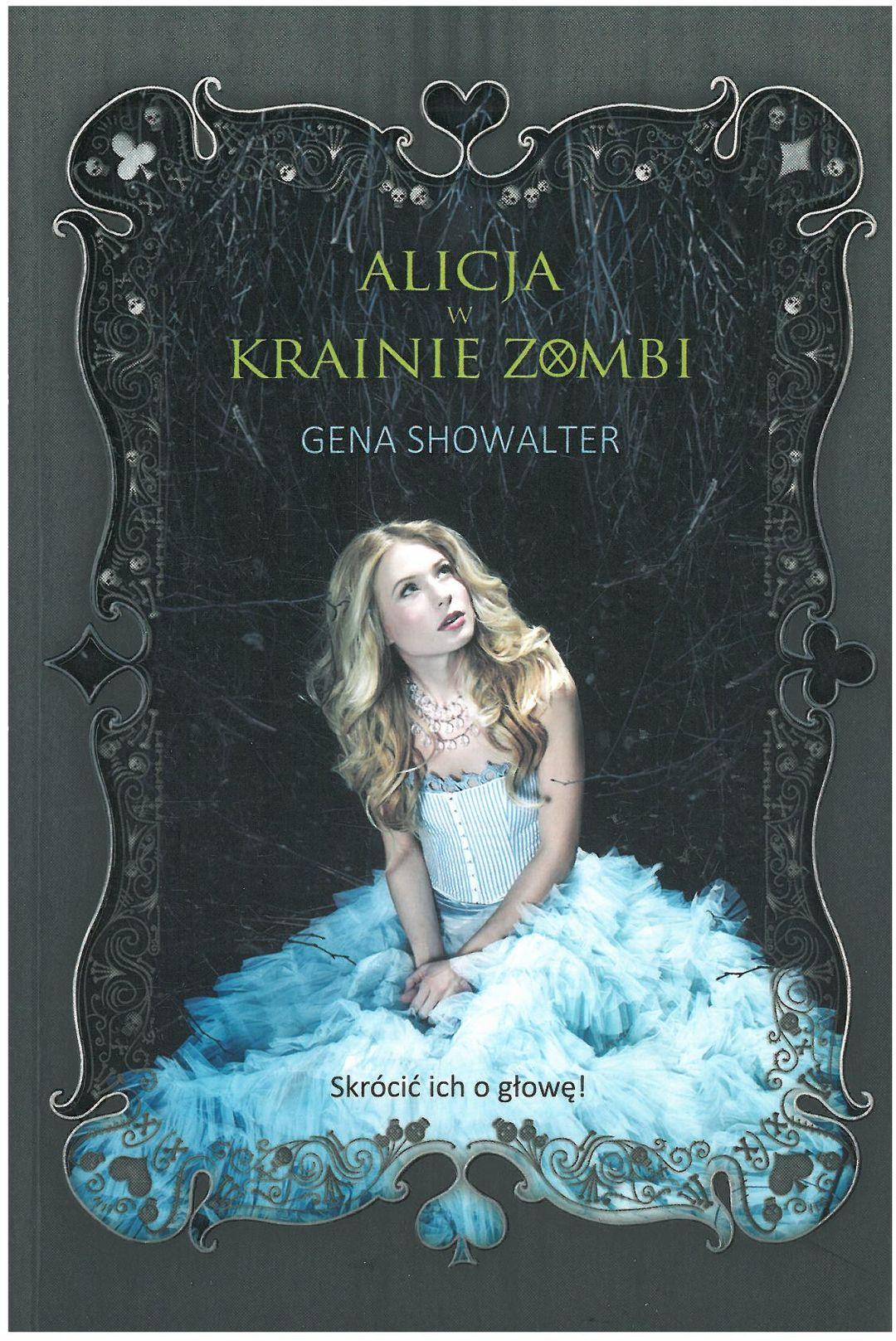 Okładka książki Alicja w Krainie Zombie