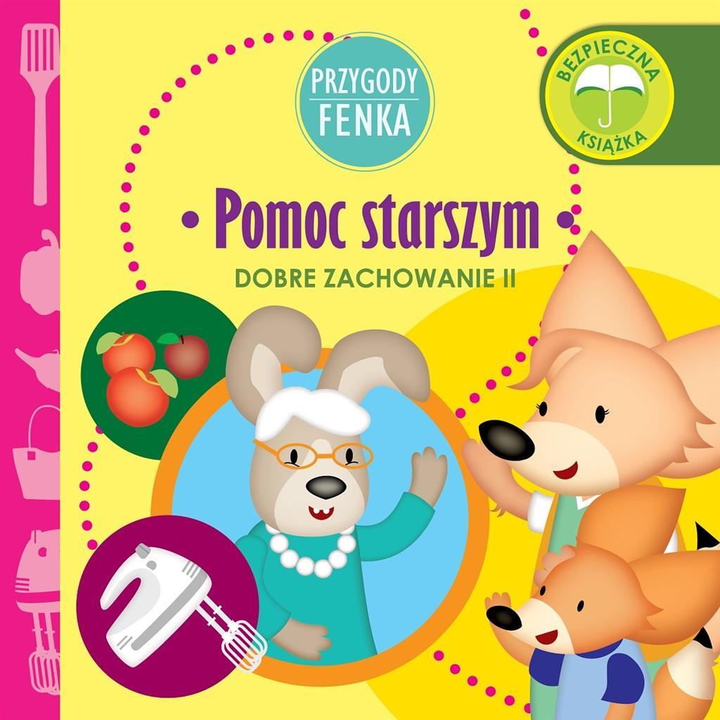 Magdalena Gruca - Przygody Fenka - Pomoc starszym - okładka książki