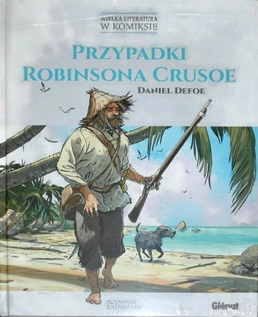 Daniel Defoe - Przypadki Robinsona Crusoe (komix) - okładka książki
