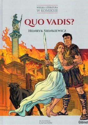 Henryk Sienkiewicz - Quo vadis (komiks) - okładka książki