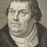 Marcin Luter - rycina