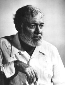 Ernest Hemingway - fotografia